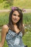 De bloemenkroon Stock Fotografie