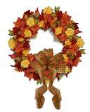 De Bloemenkroon van de Daling van de Herfst van de dankzegging vector illustratie