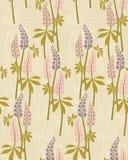 De bloemenmotief van de zomer Royalty-vrije Stock Afbeelding
