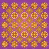 De bloemenpatronen van Thailand Royalty-vrije Stock Foto