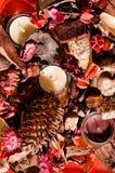 De BloemenRegeling van de herfst Stock Afbeeldingen