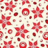De bloementextuur van de schoonheid. Vector. royalty-vrije illustratie