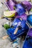 De bloemijslollys van de vlindererwt Stock Afbeelding