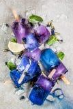 De bloemijslollys van de vlindererwt Royalty-vrije Stock Foto's