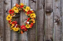 De bloemkroon van de herfst Stock Afbeeldingen