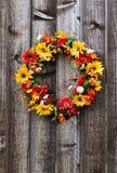 De bloemkroon van de herfst Royalty-vrije Stock Afbeeldingen