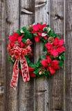 De bloemkroon van Kerstmis Royalty-vrije Stock Foto