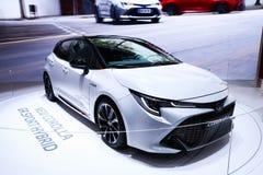 De bloemkroon van Toyota stock foto's