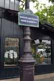 De bloemmarkt van Parijs Royalty-vrije Stock Foto