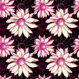 De bloempatroon van Seamles Stock Fotografie