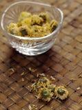 De bloemthee van de chrysant Stock Afbeeldingen