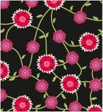 De bloemtuin van het patroonontwerp stock illustratie