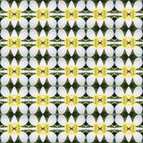 De bloesem van Witte Frangipani bloeit naadloos royalty-vrije illustratie