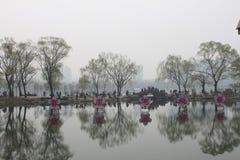 De bloesemfestival van de kers van Peking royalty-vrije stock afbeeldingen