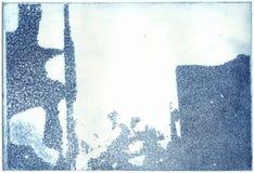 De blokdruk van de kopergravure Royalty-vrije Stock Foto