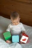 De Blokken van de baby Stock Afbeelding