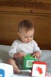 De Blokken van de baby Stock Foto's
