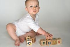 De Blokken van de baby Stock Afbeeldingen