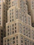 De blokken van de flat in Manhattan Royalty-vrije Stock Foto's