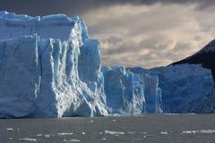 De blokken van de ijsgletsjer Royalty-vrije Stock Foto