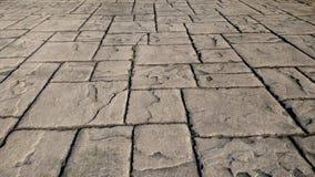 De blokken van de steenoprijlaan Stock Foto