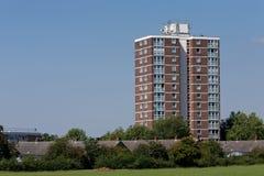 De Blokken van de toren in Harlow, Engeland. Royalty-vrije Stock Afbeeldingen