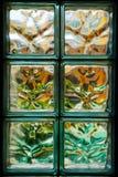 De blokken van het glas Stock Afbeelding