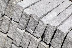 De blokken van het graniet Stock Afbeeldingen