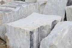 De blokken van het graniet voor bouw Royalty-vrije Stock Foto