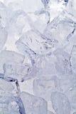 De blokken van het ijs Stock Afbeeldingen
