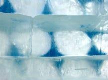 De blokken van het ijs royalty-vrije stock fotografie