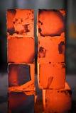 De blokken van het ijzer Stock Afbeelding