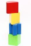 De blokken van het kind - hoogte royalty-vrije stock afbeeldingen