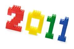 De blokken van het stuk speelgoed Royalty-vrije Stock Afbeelding