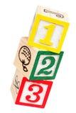 De Blokken van het stuk speelgoed Royalty-vrije Stock Foto