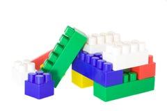 De blokken van het stuk speelgoed Stock Afbeelding
