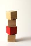 De blokken van het stuk speelgoed Royalty-vrije Stock Afbeeldingen