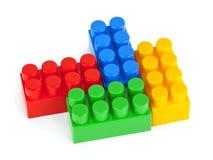 De blokken van het stuk speelgoed stock afbeeldingen