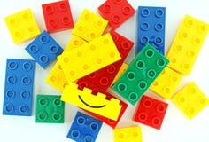 De blokken van Lego Stock Afbeeldingen