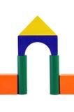De blokkencijfer van de baby - Poort Royalty-vrije Stock Afbeelding