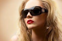 De blonde van de manier royalty-vrije stock foto