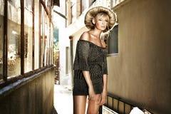 De blonde van Georgeus stock foto