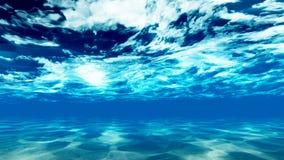De bodem van de oceaan 3 stock afbeelding