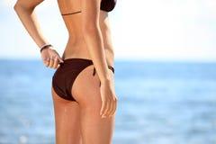 De bodemmodel van de bikini Stock Afbeeldingen