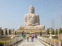 De Boeddhismezitting in Vrede royalty-vrije stock foto's