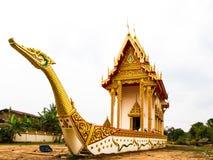 De boeddhistische kerk van Suphannahong Stock Foto