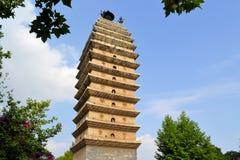 De boeddhistische pagode Kunming, Sichuan, China van het Oosten Stock Afbeeldingen