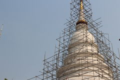 De boeddhistische tempel bouwt Royalty-vrije Stock Foto's