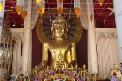 De boeddhistische tempel bouwt Stock Afbeeldingen