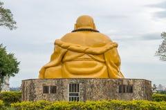 De boeddhistische tempel met het reuzestandbeeld van Boedha in Foz doet iguacu Stock Afbeelding